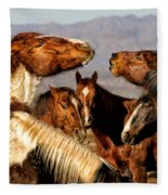 The Discussion Fleece Blanket
