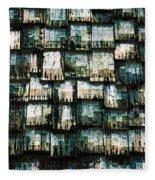 The Domino Roof Fleece Blanket