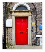 The Door To James Herriot's World Fleece Blanket