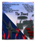 The Doors Fleece Blanket