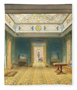 The Double Lobby Or Gallery Fleece Blanket