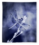 The Dragonfly  Fleece Blanket