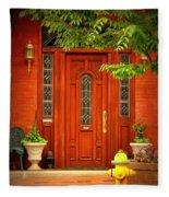 The Dream Door Fleece Blanket