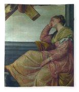 The Dream Of Saint Helena Fleece Blanket