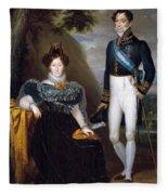 The Dukes Of San Fernando De Quiroga Fleece Blanket