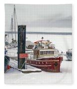 The Duncan Scott Fleece Blanket