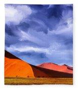The Dunes Fleece Blanket