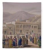 The Durbar-khaneh Of Shah Fleece Blanket