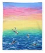 Sea To Sky Fleece Blanket