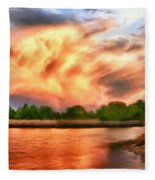 The Eastern Shore Fleece Blanket
