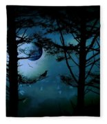 The Edge Of Twilight  Fleece Blanket