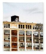 The Electric Factory Fleece Blanket