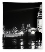 The Electric Tower Pan American Exposition Buffalo New York 1901 Fleece Blanket
