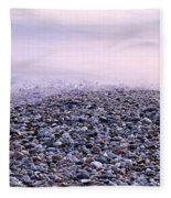 The Embrace Of The Sea Fleece Blanket