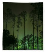 The Emerald Forest Fleece Blanket