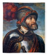 The Emperor Charles V Fleece Blanket