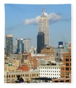 The Empire State Building Fleece Blanket