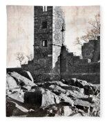 The Empty Tower Fleece Blanket