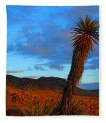 The Endangered Wild West Fleece Blanket