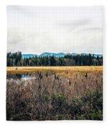 Hamilton Marsh  Fleece Blanket
