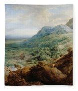 The Escorial, From A Foothill Fleece Blanket