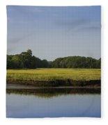 The Essex Marsh Fleece Blanket