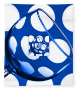 The Eternal Glass Blue Fleece Blanket