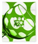 The Eternal Glass Green Fleece Blanket