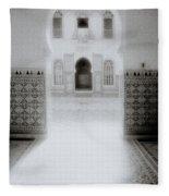 The Ethereal Doorway Fleece Blanket