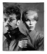 The Eurythmics Fleece Blanket