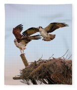 The Exhibitionists Fleece Blanket