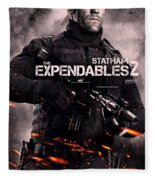 The Expendables 2 Statham Fleece Blanket