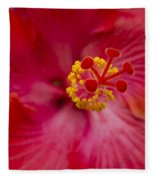 The Expression Of Love Fleece Blanket