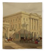 The Exterior Of Apsley House, 1853 Fleece Blanket