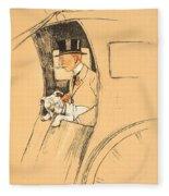 The Extra Passenger Fleece Blanket