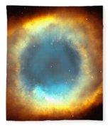 The Eye Of God-helix Nebula Close Up Fleece Blanket