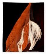 The Eye Of Lower Antelope Canyon Fleece Blanket