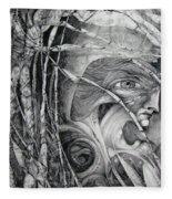 The Eye Of The Fomorii - Regrouping For The Battle Fleece Blanket