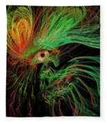 The Eye Of The Medusa Fleece Blanket