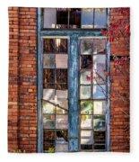 The Factory Window Fleece Blanket