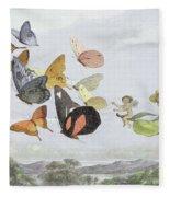 The Fairy Queen's Carriage Fleece Blanket