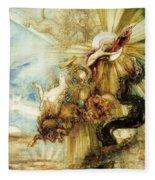 The Fall Of Phaethon Fleece Blanket