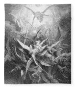 The Fall Of The Rebel Angels Fleece Blanket