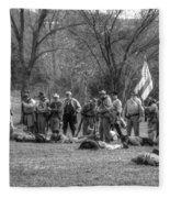 The Fallen Civil War Fleece Blanket