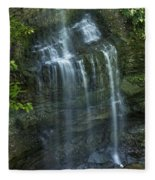 The Falls From Above Fleece Blanket