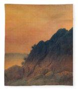 The False Lovers' Rock At Sunset Fleece Blanket