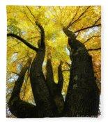 The Family Tree Fleece Blanket