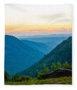 The Far Hills Fleece Blanket