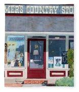 The Farmer's Country Store Fleece Blanket
