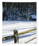 The Fence Line Fleece Blanket